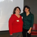 Marie Pellegrino (left) and Sandra Hernandez, co chairs Arlington Greens